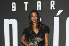Look of the Day: Zoe Saldana's Sheer Number