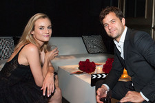 Diane Kruger and Josh Jackson Share a Sweet Moment