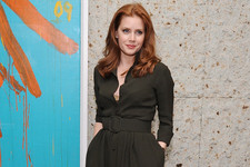 Look of the Day: Amy Adams' Button-Front Frock