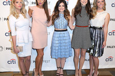 The 'Pretty Little Liars' Ladies Heat Up PaleyFest