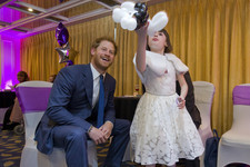 Prince Harry Patrons Event for Sick Kids, Takes after Princess Di in a Big Way