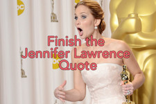 Fill in the Blank: Jennifer Lawrence Quotes