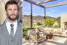 Chris Hemsworth's Malibu Mansion Is a Cliffside Paradise