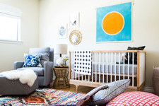 Before & After: A Colorful Nursery in Southern California
