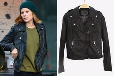 Found: Kate Mara's Leather Jacket