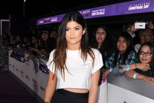 Kylie Jenner Steps Out to Support Justin Bieber
