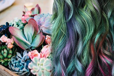Channel Your Inner Forest Fairy With Succulent Hair