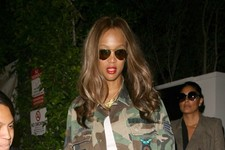 Tyra Banks Is Ready for War...or Dinner