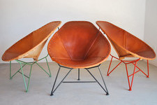 Four of Our Favorite Industrial Leather Chairs