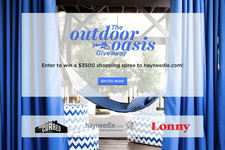 Last Chance! Enter Lonny and Curbed's Outdoor Oasis Sweepstakes