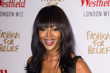 Naomi Campbell Gets Dressed Up for a Good Cause