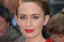 Emily Blunt's Twisty Updo