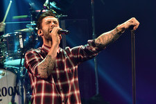 Adam Levine Rocks Out