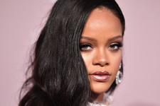 Rihanna Wowed In A Gorgeous Dress At Virtual Party
