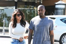 Kim and Kanye Have a Day Date
