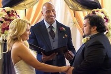 The Rock Officiated a Fan's Surprise Wedding
