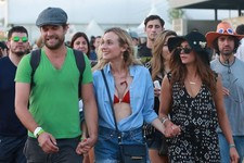 Nina Dobrev Hits Coachella with Joshua Jackson and Diane Kruger