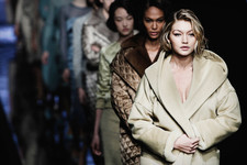 Gigi Hadid on the Catwalk