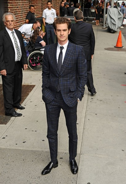 Andrew Garfield yet again blew us away in a spectacular retro suit.