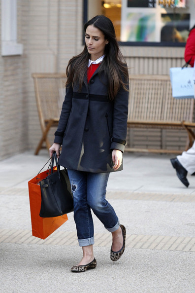 More Pics of Jordana Brewster Ballet Flats (3 of 13) - Ballet Flats Lookbook - StyleBistro