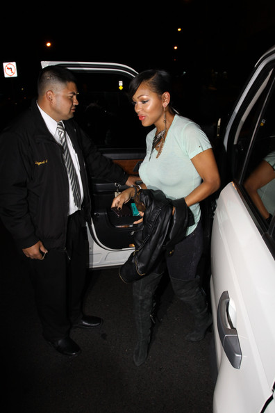 More Pics of Meagan Good Dangle Decorative Earrings (1 of 7) - Meagan Good Lookbook - StyleBistro