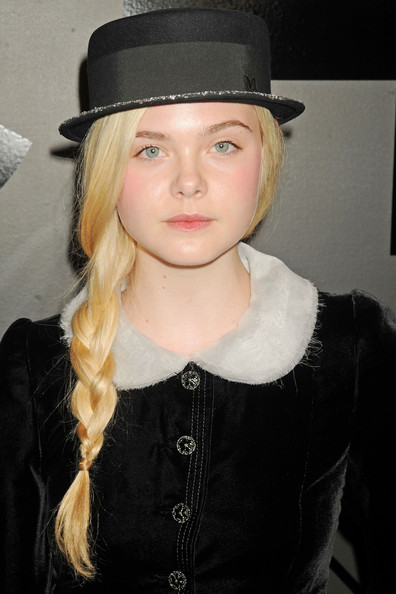 More Pics of Elle Fanning Bowler Hat (1 of 5) - Elle Fanning Lookbook - StyleBistro