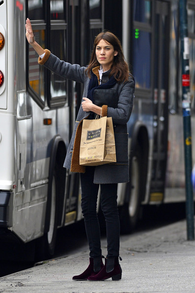 More Pics of Alexa Chung Wool Coat (1 of 6) - Wool Coat Lookbook - StyleBistro