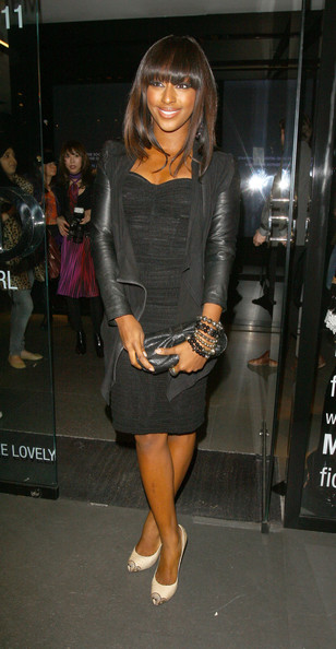 More Pics of Alexandra Burke Leather Jacket (4 of 5) - Alexandra Burke Lookbook - StyleBistro