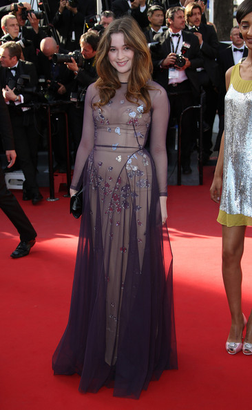 Alice Englert Evening Dress