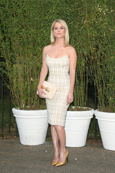 Alice Eve Beaded Dress