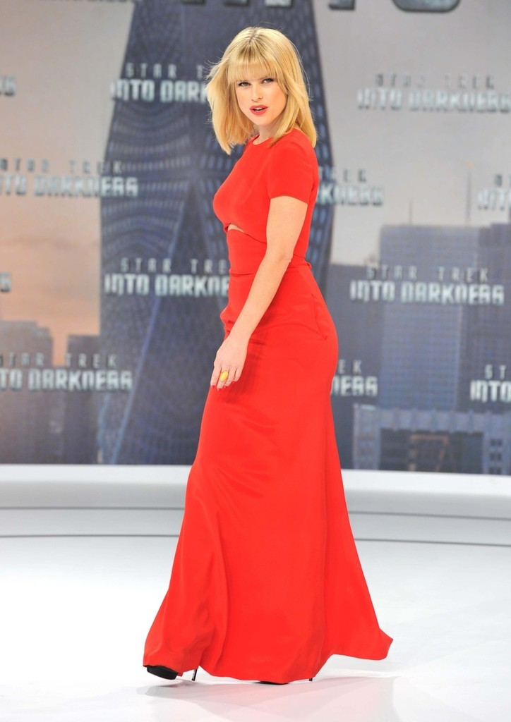 Alice Eve attends 'Star Trek - Into Darkness' German Premiere at China Club in Berlin