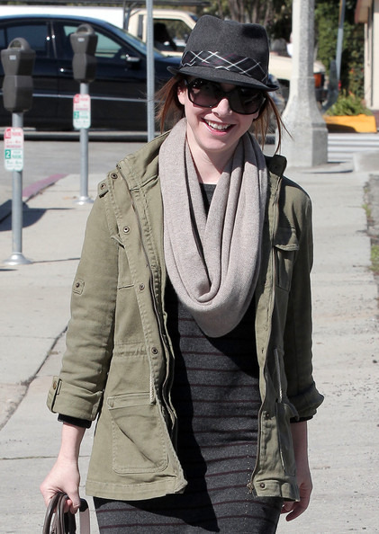More Pics of Alyson Hannigan Fedora (1 of 19) - Alyson Hannigan Lookbook - StyleBistro