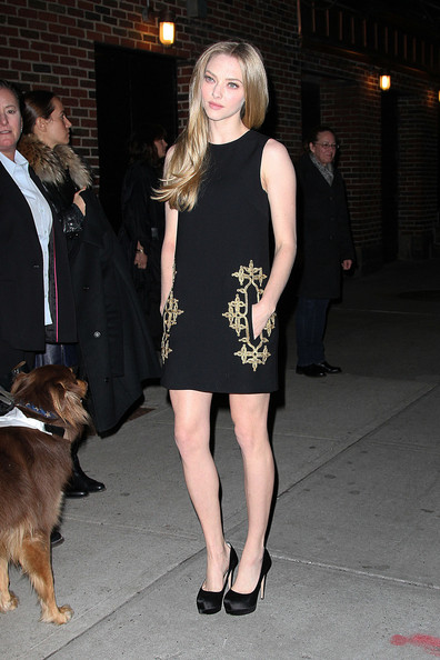 Amanda Seyfried Cocktail Dress