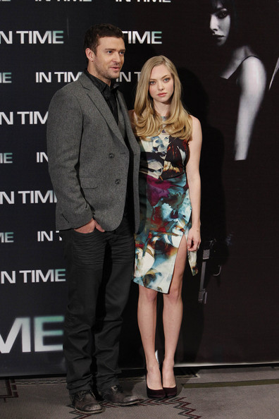 Justin Timberlake and Amanda Seyfried Promote 'In Time'