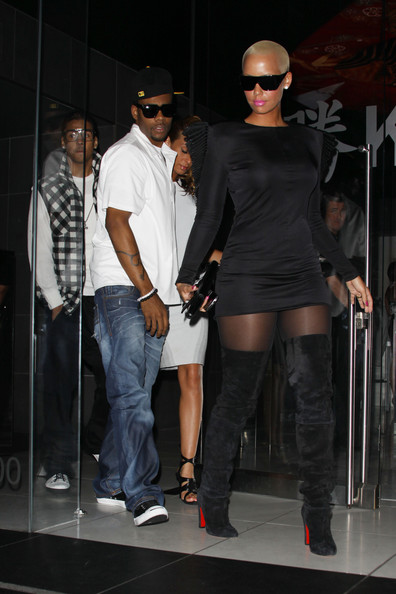 Amber Rose Over the Knee Boots