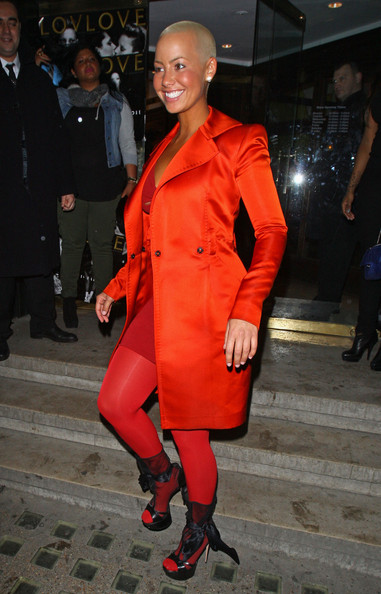Amber Rose Evening Coat