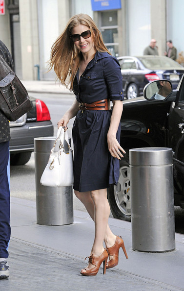 Amy Adams High Heel Oxfords