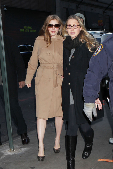 More Pics of Amy Adams Wool Coat (1 of 10) - Amy Adams Lookbook - StyleBistro