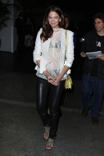 Analeigh Tipton Leather Pants