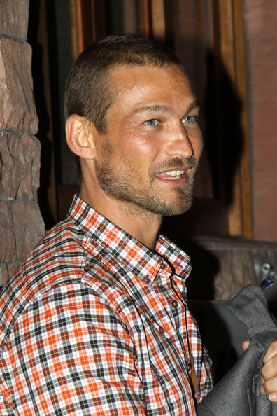 Andy Whitfield Hair