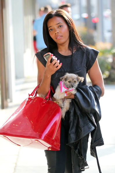 More Pics of Angela Simmons Basketball Sneakers (1 of 15) - Angela Simmons Lookbook - StyleBistro