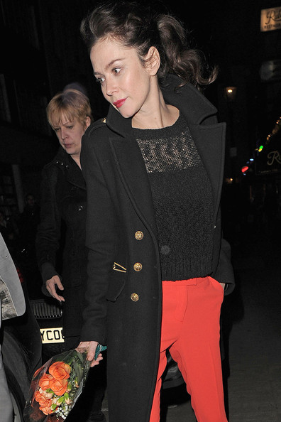 More Pics of Anna Friel Slacks (1 of 5) - Slacks Lookbook - StyleBistro