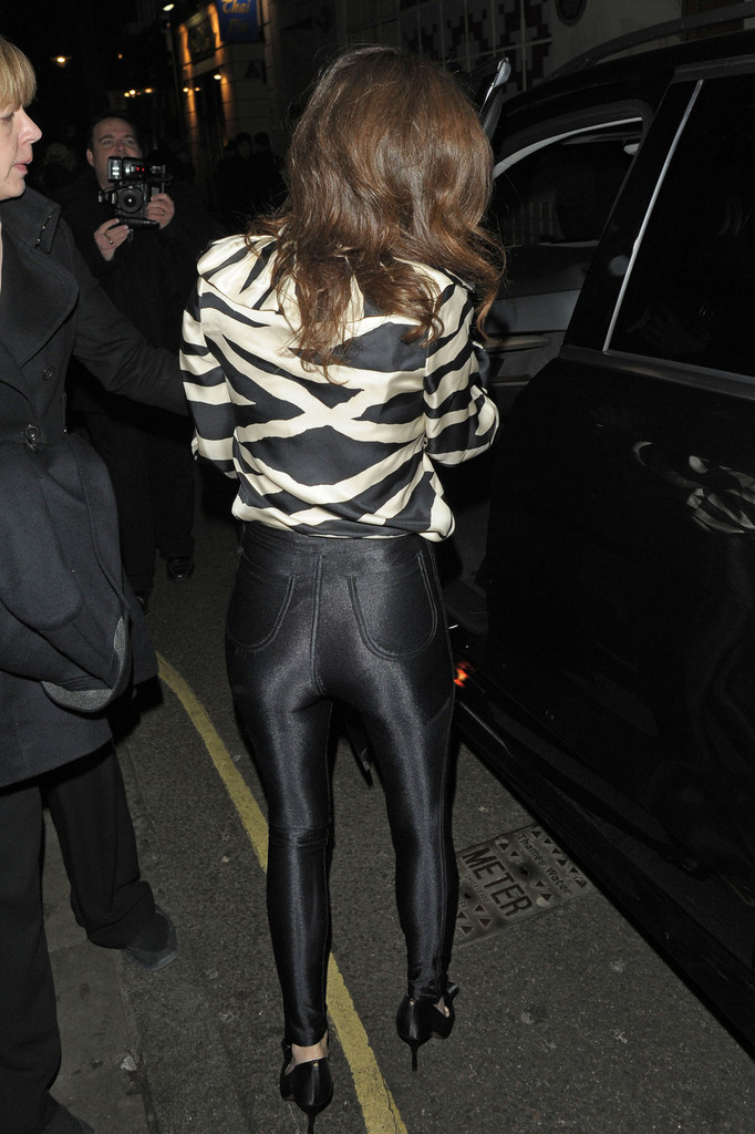 More Pics Of Anna Friel High Waisted Pants 1 Of 4 Anna