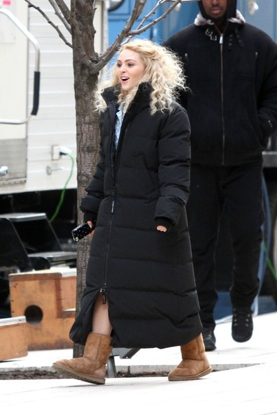 AnnaSophia Robb Down Jacket