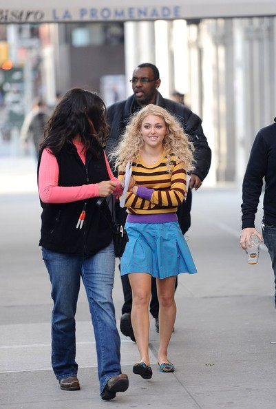 More Pics of AnnaSophia Robb Smoking Slippers (1 of 11) - Smoking Slippers Lookbook - StyleBistro