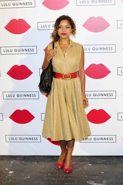 Antonia Thomas Shirtdress