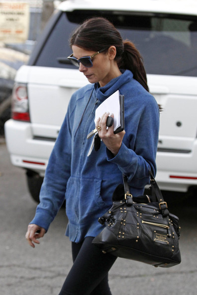 More Pics of Ashley Greene Leather Tote (1 of 15) - Ashley Greene Lookbook - StyleBistro