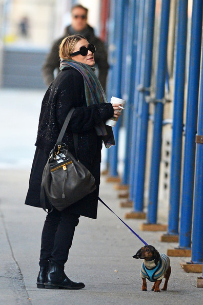 Ashley Olsen Designer Backpack