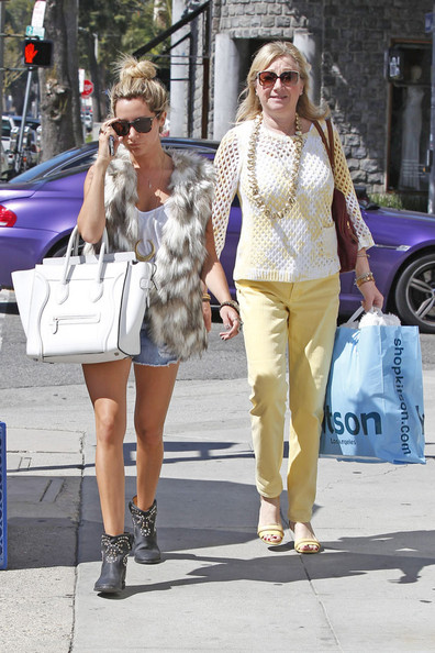 More Pics of Ashley Tisdale Vest (1 of 31) - Ashley Tisdale Lookbook - StyleBistro