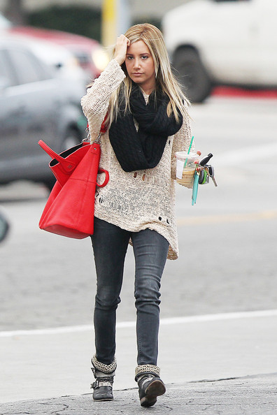 More Pics of Ashley Tisdale Skinny Jeans (2 of 13) - Ashley Tisdale Lookbook - StyleBistro